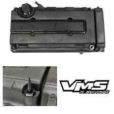 VMS BLACK ENGINE DRESS UP KIT B16 B18 VALVE COVER INSERT WASHER SEAL SPIKE NUT 2