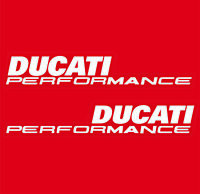 DUCATI PERFORMANCE Fairing Vinyl Side Stickers Decals 899 1199 1299 Panigale /91