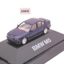 Herpa 1:87 BMW M5 blau in PC Box RT6942
