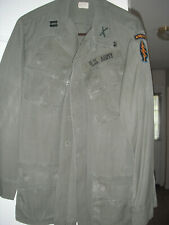 Original Vietnam Officer Special Forces Infantry O.G. Jungle Jacket 1968, Used