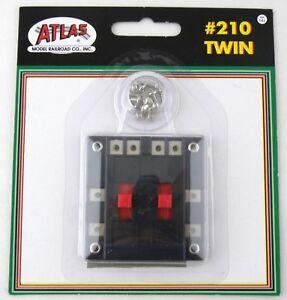 Atlas Model Railroad #210 Twin