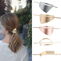 Irregular Triangle Oval Metal Hollow Hairpin Simple Hair Stick Hair Accessories/
