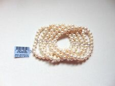 Macy's 5-strand cultured pearl bracelet