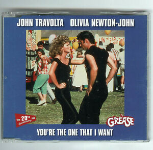 enhancedCD Single GREASE 20th Anniversary'98 You're The One That I Want MegaMix