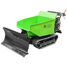 Zipper Dumper Motorschubkarre Muldenkippen MD500HS 9,3PS +Schneeschid