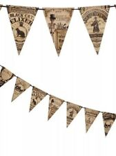 Bethany Lowe Halloween Cabinet Of Curiosities Pennant Garland--Retired