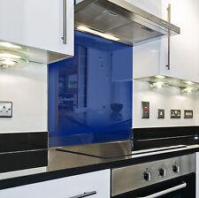 Splashback Paraschizzi Paraspruzzi Rivestimento Cucina colore tinta unita blu