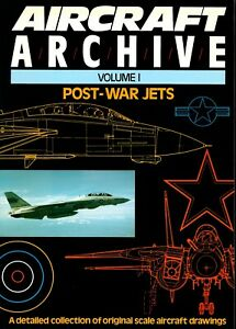 Aircraft Archive - Volume 1 - Post-War Jets (Argus Books) - New Copy