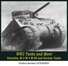 Tanks of WWII plus the M-60