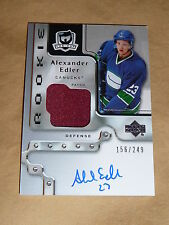 06-07 The Cup Alexander Edler Auto PATCH 156/249 RC
