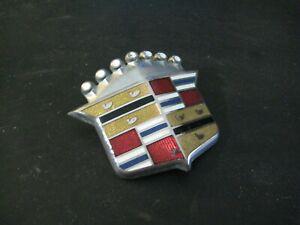 70 Cadillac Deville Calais Coupe Sedan Hood Ornament Crest Emblem