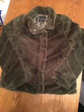CI Sono Faux Fur Collection Women's Size Extra Large Jacket