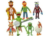 Muppets Select Action Figure Complete Set Serie 1 Diamond Select