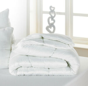 BAMBOO COTTON 4.5 TOG LIGHTWEIGHT DUVETS Anti-Bacterial Hotel Quality PILLOWS
