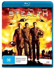 Stealth Blu-ray | Josh Lucas, Jessica Biel, Jamie Foxx Region B New