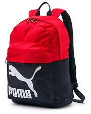 a0e71b1fb40a PUMA Originals Backpack Bags Sports Red Navy Unisex Casual School Bag  07479916