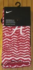 New Nike Alabama Crimson Tide Performance Socks Size M (6-8) Red SX7021-657