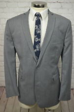 Bar III Mens Gray Wool MOD X-SLIM FIT Big Tall Blazer Sport Coat Jacket 48R