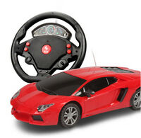Red 1:24 Children Remote Control Toy Rc Car Ready-To-Go Radio Control Vehicle