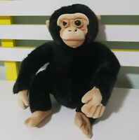 DISNEY WORLDWIDE CONSERVATION MONKEY CHIMPANZEE STUFFED ANIMAL 22CM!