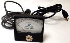 HASTINGS NV-800 VACUUM GAUGE 0-800 TORR, 46-0480-0050, 71-142 PC/CC, AS-IS