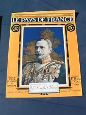 Pays de France 1916 69 ZEPPELIN FRISE DOMPIERRE LIHONS (ROSIERES EN SANTERRE CHA