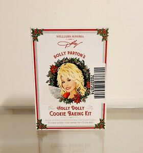 Williams Sonoma Dolly Parton Holly Dolly Cookie Baking Kit NEW