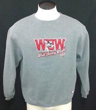 Vintage Walt Disney World Mickey Mouse Sewn Logo Crewneck Sweatshirt size M