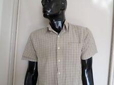 Mens Ralph Lauren brand cotton blend check shirt Sz 15-32