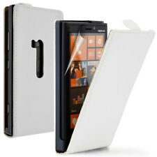 Cases for Nokia LUMIA 920 Stylus Phone Flip Case Cover Shell Pouch White