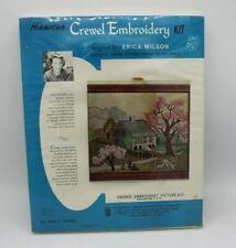 Hiawatha Crewel Embroidery Kit Erica Wilson #6803/1 Spring Vintage