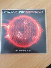 "JEAN MICHEL JARRE FT CYNDI LAUPER ""SWIPE TO THE RIGHT"" RARE UK CD PROMO"