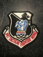 "Rare Vtg Cold War 70s 80s 347th Tactical Fighter Wing Squadron Patch 3"" USAF"