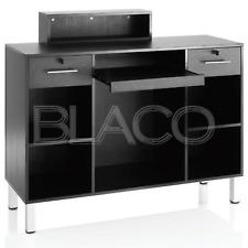 Banco Reception Atrium Compact Consolle - Nero