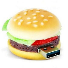 Hot New Cute Hamburger Model 8GB USB 2.0 Memory Flash Stick Pen Drive free ship