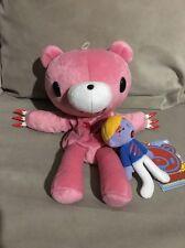 Gloomy Bear And Pity Bloody Plush Puppet Japan Mori Chack NWT