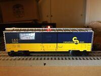 """Lionel 6-9426/ MTW C&O Voltmeter Boxcar. """"O"""" Scale Rev 2.0 NIB. NICE !"""