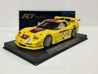 Slot car SCX Scalextric Fly 88025 Corvette C5R 1º GTS Petit Le Mans 2002 - A129