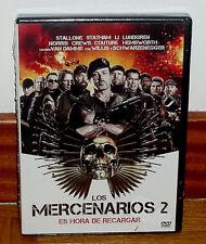 LOS MERCENARIOS 2 - DVD - NUEVO - PRECINTADO - ACCION - AVENTURAS - STALLONE