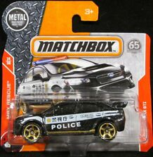 Matchbox '15 Subaru WRX STi Police BLACK #67 2018 new on short card