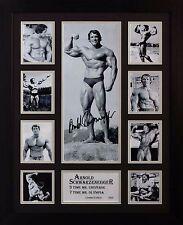 Arnold Schwarzenegger Limited Edition Signed Framed Memorabilia