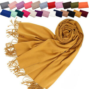 Women's Multi-color Synthetic Cashmere Long Blanket Shawl Wrap Scarves One Size