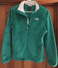 NORTH FACE WOMENS EMERALD GREEN OSITO JACKET SIZE M