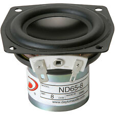 "Dayton Audio ND65-8 2-1/2"" Aluminum Cone Full-Range Driver 8"