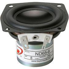 "Dayton Audio ND65-8 2-1/2"" Aluminum Cone Full-Range Driver 8"