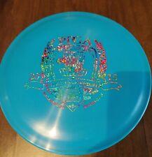 New Blue Discraft X-clone 2015 Pdga rainbow glitter stamp 175-176 grams. Oop