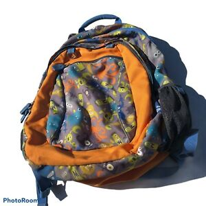 Garnet Hill Kids BackPack Silly Monster Theme Great Condition