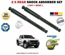 FOR ISUZU RODEO 2.5 3.0 DiTD 2002-2012 2 X REAR LEFT + RIGHT SHOCK ABSORBERS SET