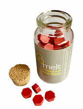 60pcs Hexagon Sealing  RED Wax Beads Mini Melting Wax Stamp Seals x 2 JARS