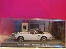 007 SUPERBE TOYOTA 2000GT YOU ONLY LIVE TWICE 1/43 EN BOITE SOUS BLISTER Q8